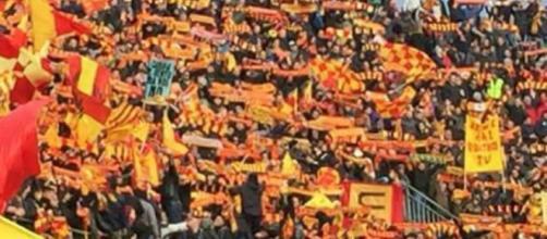 I tifosi del Lecce pronti a invadere Caserta.