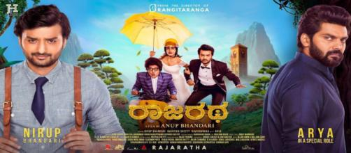 Kannada film 'Rajaratha' releasing this Friday (Image via Taran Adarsh/Twitter)