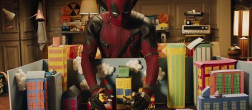 Una escena del último trailer de Deadpool 2
