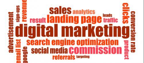 Word cloud for digital marketing. (Image via geralt/Pixabay)