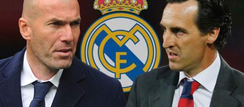 Zidane podría reemplazar a Emery