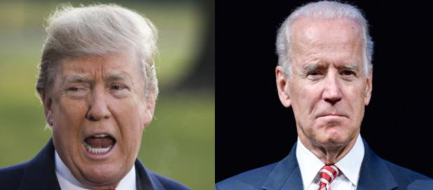 Donald Trump, Joe Biden, via Twitter