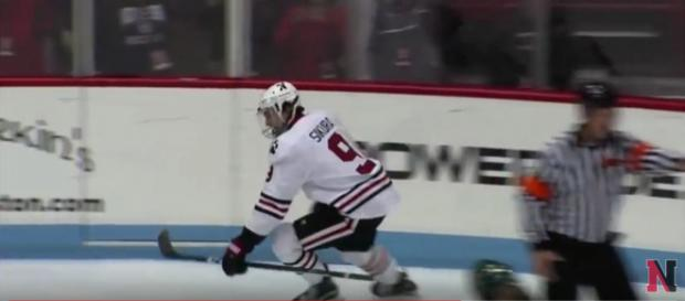 Dylan Sikura is one of the new Blackhawks prospects - image - gonuathletics / YouTube