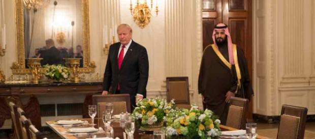 Llamadas de la Casa Blanca y reunión con el Príncipe Heredero de Arabia Saudita - reuters.com