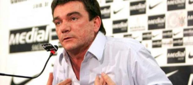 Presidente Andrés Sanchez, do Timão