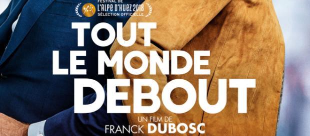 """""""Tout le monde debout"""", de Franck Dubosc - 2018 (affiche)"""