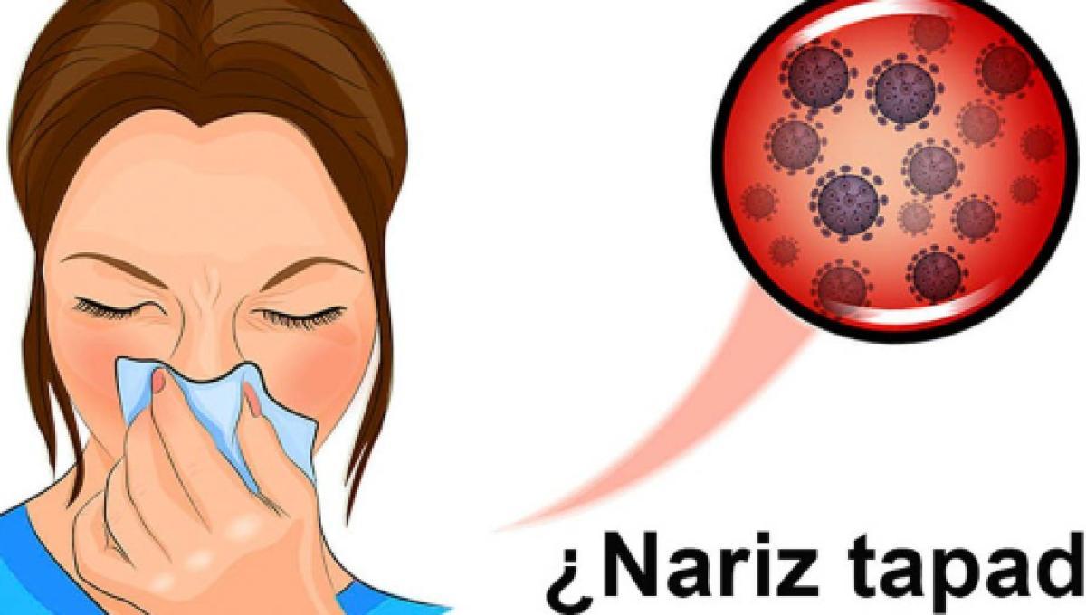 como quitar la nariz tapada
