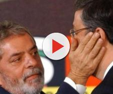 Ex-presidente Lula e Antonio Palocci