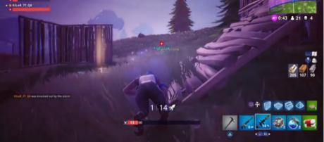 A screenshot from 'Fortnite' - (Image Credit: Lord Duche/YouTube)