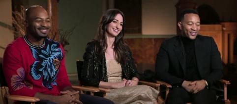 John Legend, Sara Bareilles, and Brandon Victor Dixon talk about their production of 'Jesus Christ Superstar.' - [Today / YouTube screencap]