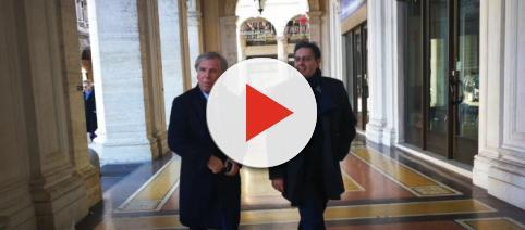 Enrico Preziosi con il Governatore Toti (Genova Post)