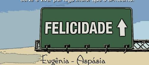 A felicidade humana repousa sobre a noção de alteridade, de ética. www.google.com.br