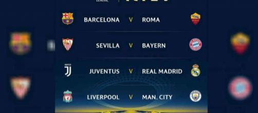 de Champions: Real vs. Juventus, Barca vs. Roma,