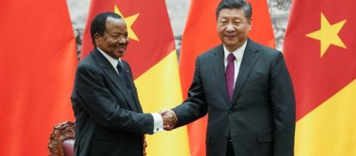 Le président camerounais Paul Biya accueilli en grande pompe à ... - rfi.fr