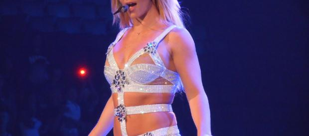 Britney Spears performing live -- Wikimedia Commons