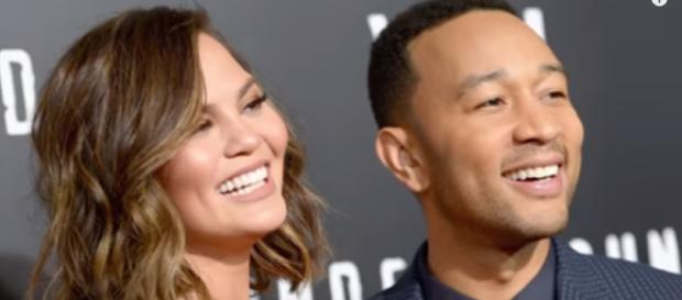 Chrissy Tiegan didn't take John Legend's last name and fans are incensed. [image source: Nicki Swift/YouTube screenshot]