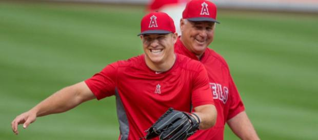 Mike Trout had a career-high OPS in 2017. Image Source: Flickr | Keith Allison