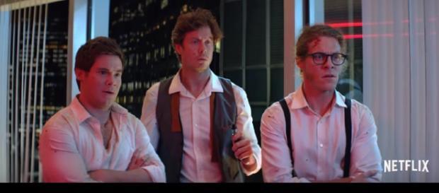 Netflix comedy 'Game Over, Man!' review. - [Netflix / YouTube screencap]