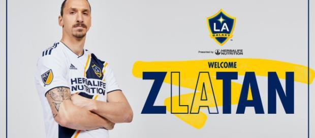 Zlatan ya es jugador del los Ángeles Galaxy