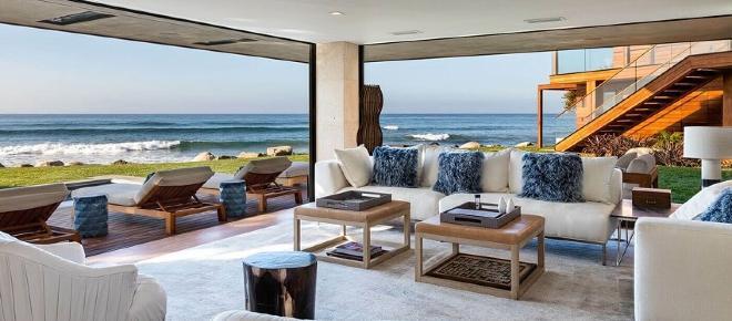 Las casas cerca del mar son una buen opción
