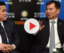 Inter, il proprietario di Suning con Erick Thoir