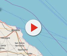 Una forte scossa di terremoto è stata avvertita a quindici chilometri della costa brindisina