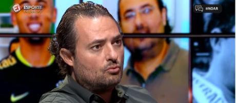 Diretor de futebol da equipe alviverde (Captura de vídeo)