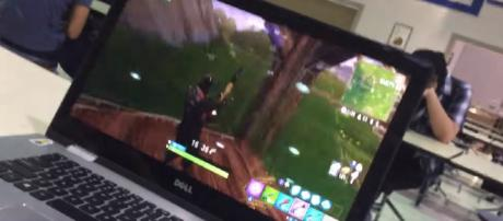 Teachers and students alike are getting fed up with 'Fortnite.' [image source: VIP Original/YouTube screenshot]