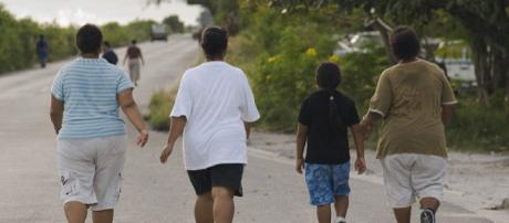 Walking is good for general fitness (Image credit - Lorrie Graham, Wikimedia Commons)