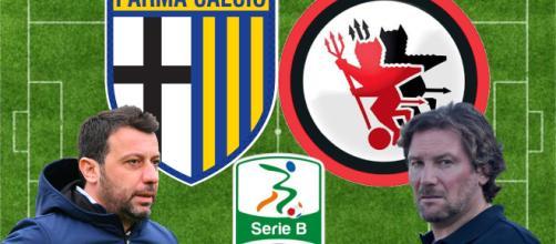 D'Aversa e Stroppa, allenatori di Parma e Foggia