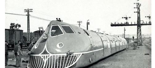 El Talgo con su diseño futurista, ligero y totalmente soldado, se adelantó a su tiempo