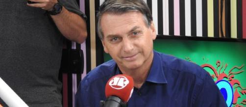 Jair Bolsonaro em entrevista à Jovem Pan Curitiba