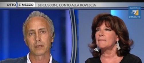 Lo scontro tv tra Travaglio e il presidente del Senato Casellati