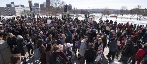 March for Our Lives protest [image courtesy Fibonacci Blue flickr]