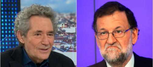 Miguel Ríos y Mariano Rajoy en imagen