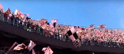 """Tifosi del Palermo allo stadio """"Barbera"""""""