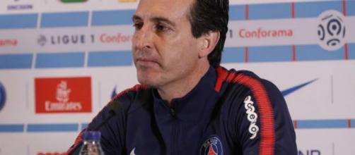 Unay Emery, treinador do Paris Saint-Germain