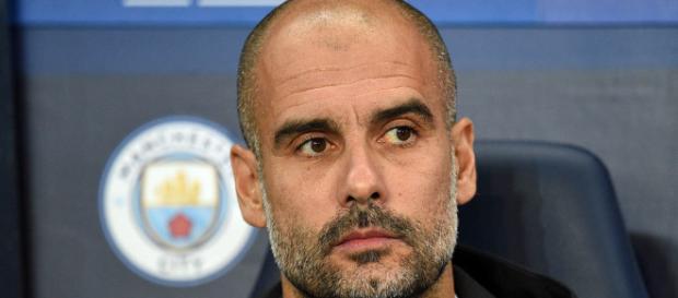 Guardiola é o atual treinador do Manchester City.