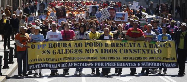Protesta organizada para la defensa de nuestra vida.