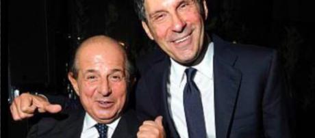 Giancarlo Magalli e Fabrizio Frizzi