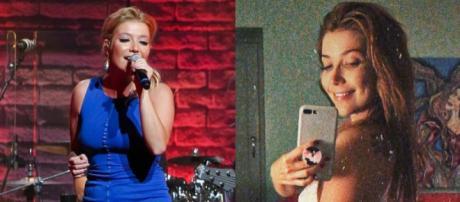 Luiza Possi posta foto de lingerie e diz: 'amar a si mesmo'. (foto reprodução).