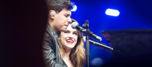Alfred y Amaia brillaron con luz propia en'La Noche de Cadena 100' / FOTO: Irene Izaguirre