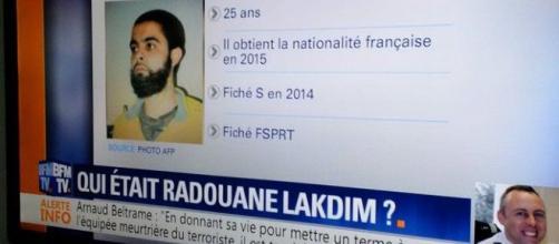 """BFM TV publie une """"fake news"""" : Radouane Lakdim a obtenu la nationalité française en 2015"""