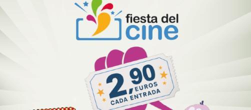Cartel promocional de la fiesta del cine
