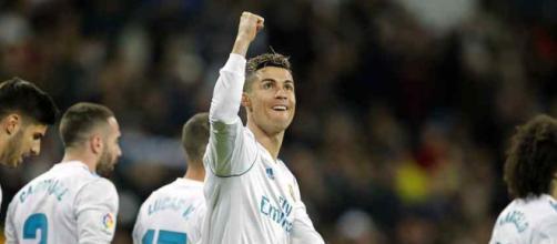 Cristiano Ronaldo continua liderando o Real Madrid. (foto reprodução).