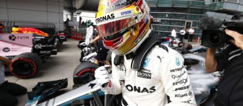 Aunque su automóvil Mercedes parecía ser el más rápido, la forma de Ferrari en Melbourne demostró lo fuerte que es también ese auto