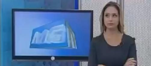 Livia Zanolini, a jornalista 'xingona' de emissora filiada a Globo