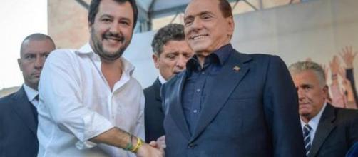 Matteo Salvini e Silvio Berlusconi, un passaggio di consegne quasi definitivo per la leadership del centrodestra