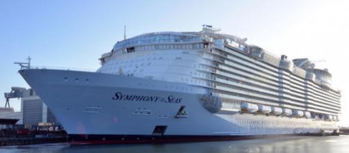 Salpa nel Mediterraneo la Symphony of the Seas - ilsole24ore.com