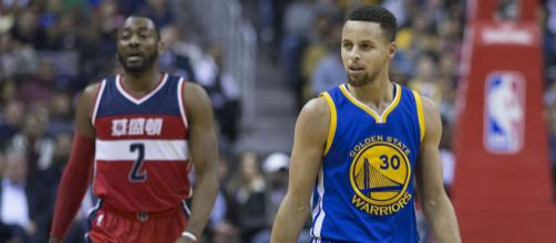 Stephen Curry the best point guard in the NBA? Is John Wall a top-5 point guard? [image source: Keith Allison - Flickr]